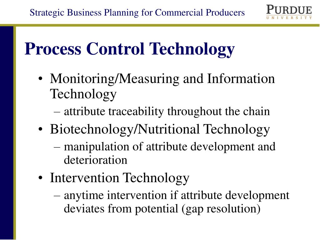 Process Control Technology