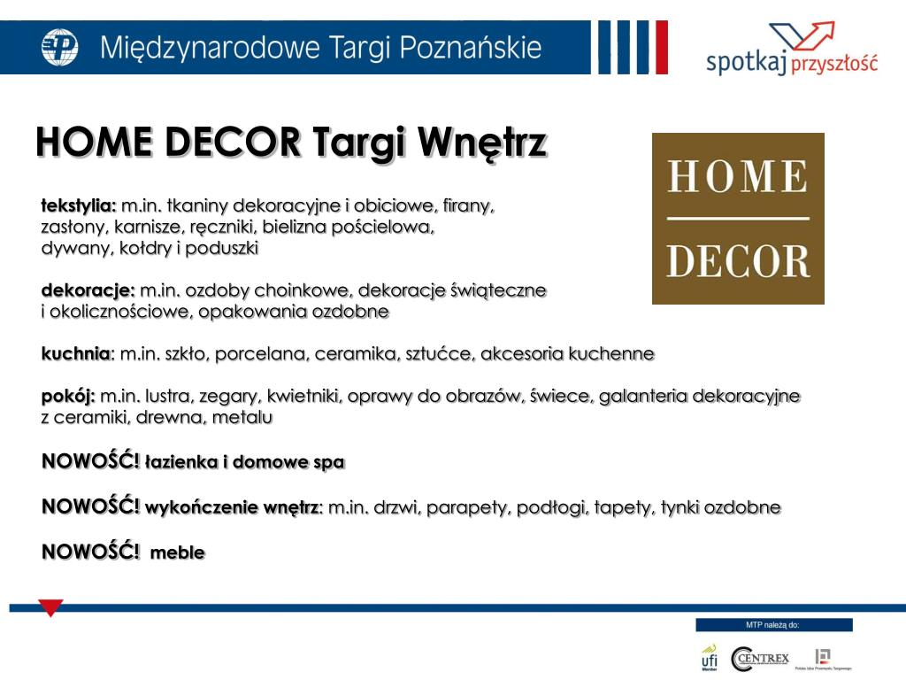 HOME DECOR Targi Wnętrz