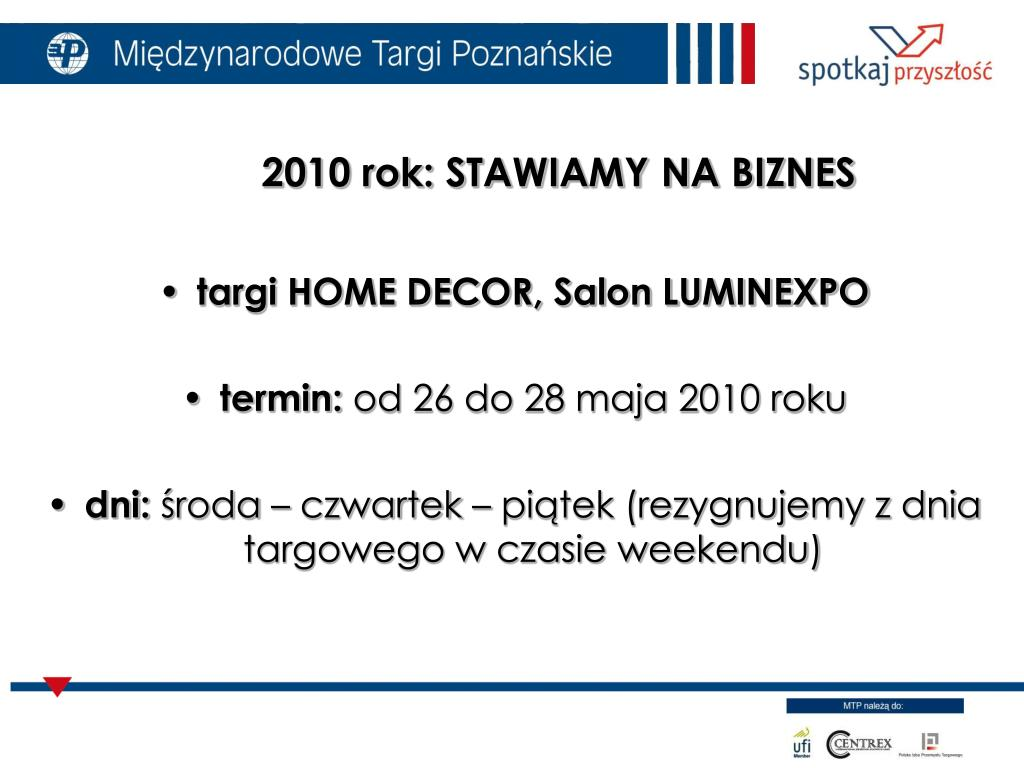 targi HOME DECOR, Salon LUMINEXPO