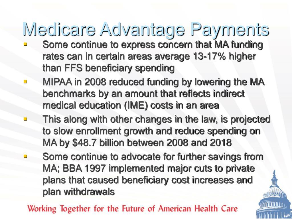 Medicare Advantage Payments
