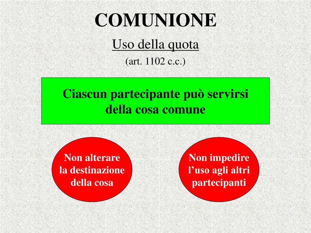 COMUNIONE
