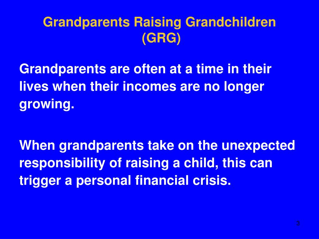 Grandparents Raising Grandchildren