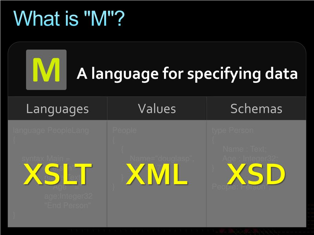 "What is ""M""?"