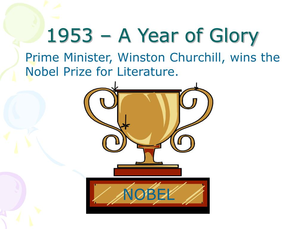 1953 – A Year of Glory