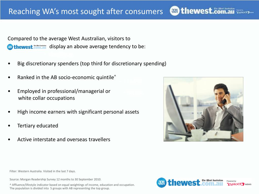 Reaching WA's most sought after consumers