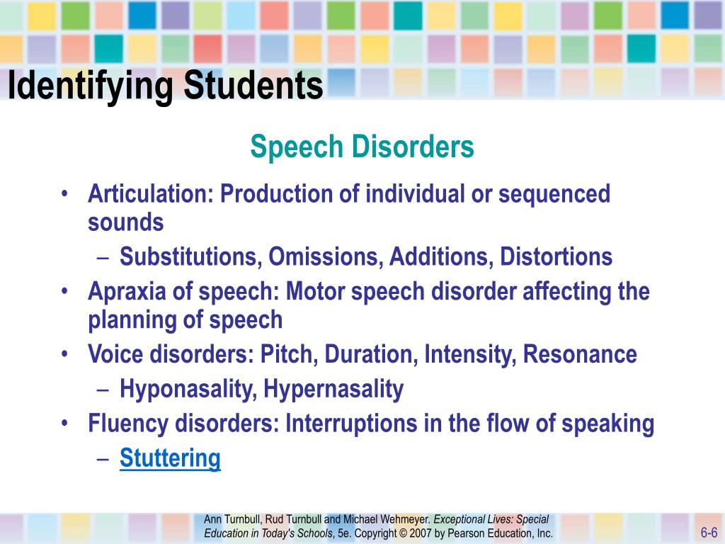 Ppt chapter 6 powerpoint presentation id 746240 for Motor planning disorder symptoms