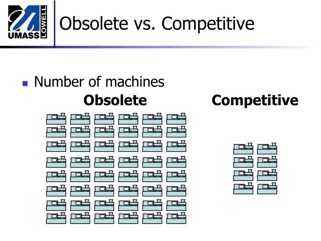 Obsolete vs. Competitive