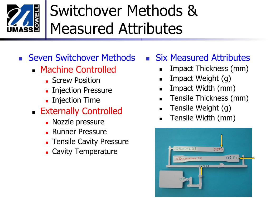 Seven Switchover Methods
