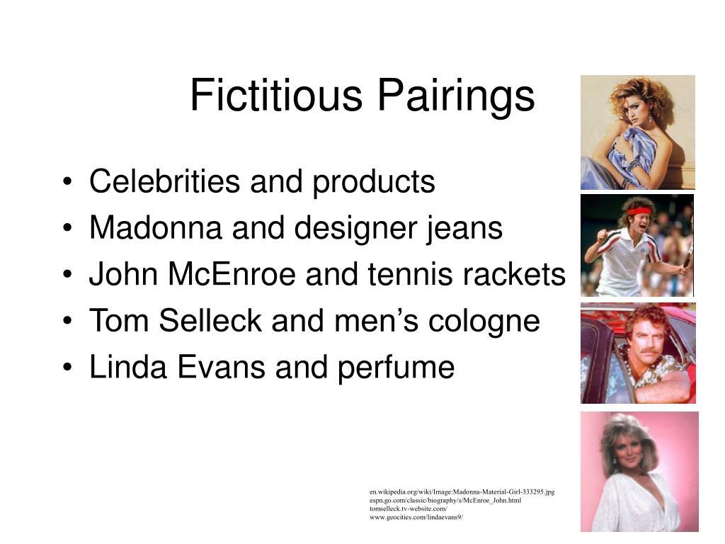 Fictitious Pairings