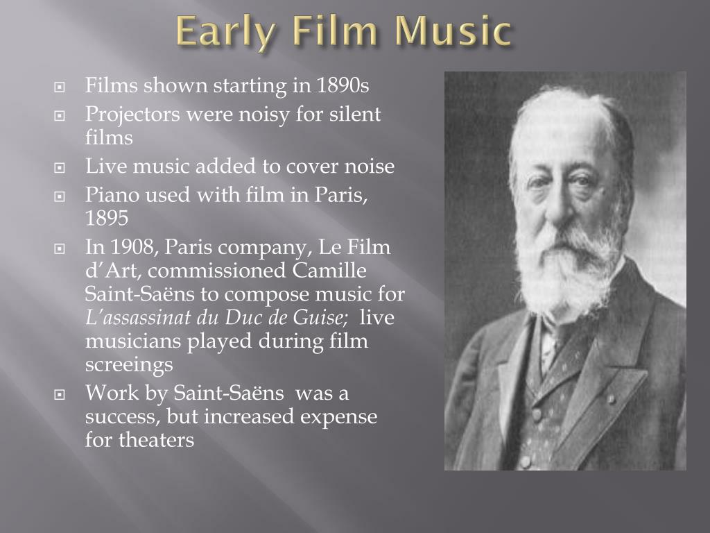 Early Film Music