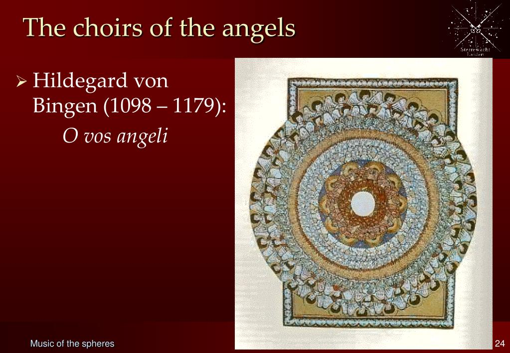 The choirs of the angels