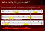what is the phrygian mode