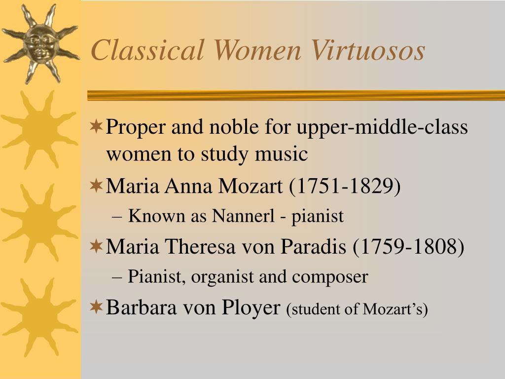 Classical Women Virtuosos