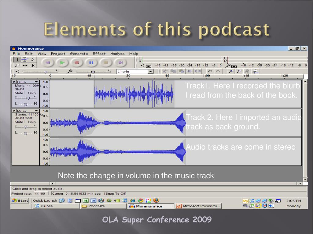 Elements of this podcast