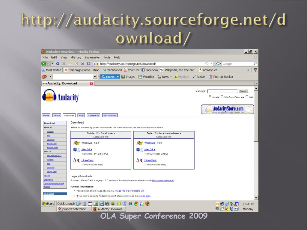 http://audacity.sourceforge.net/download/