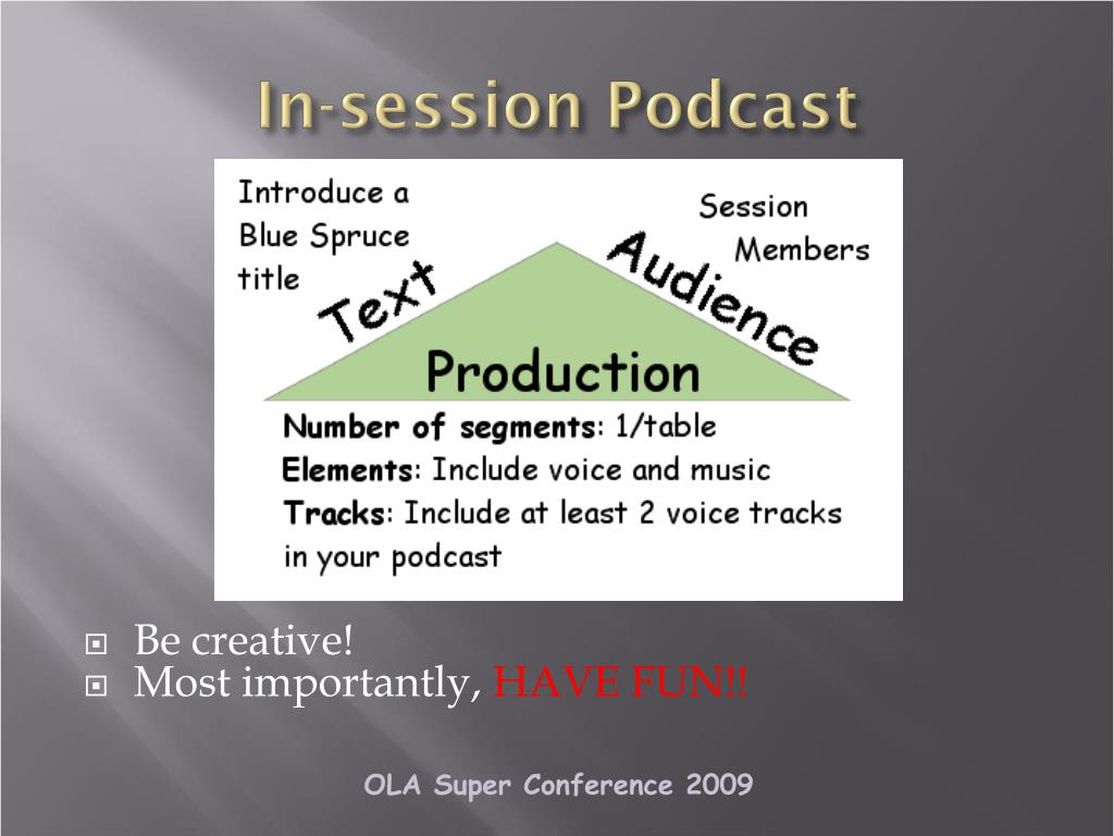 In-session Podcast
