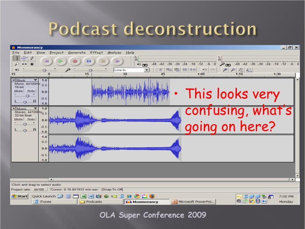 Podcast deconstruction