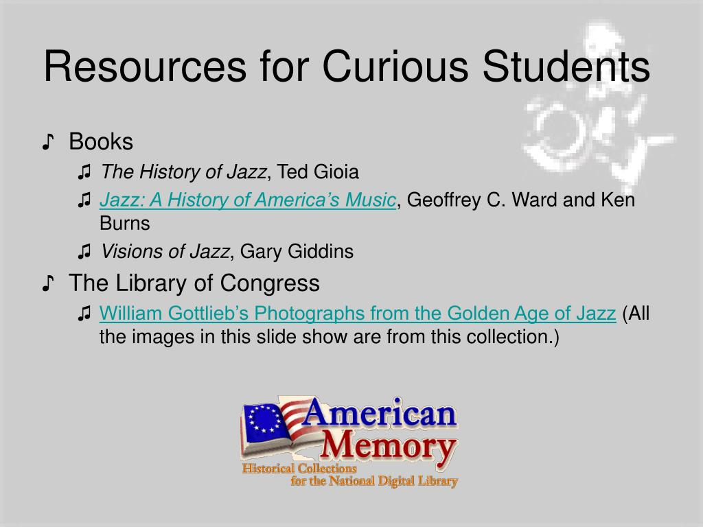 Resources for Curious Students
