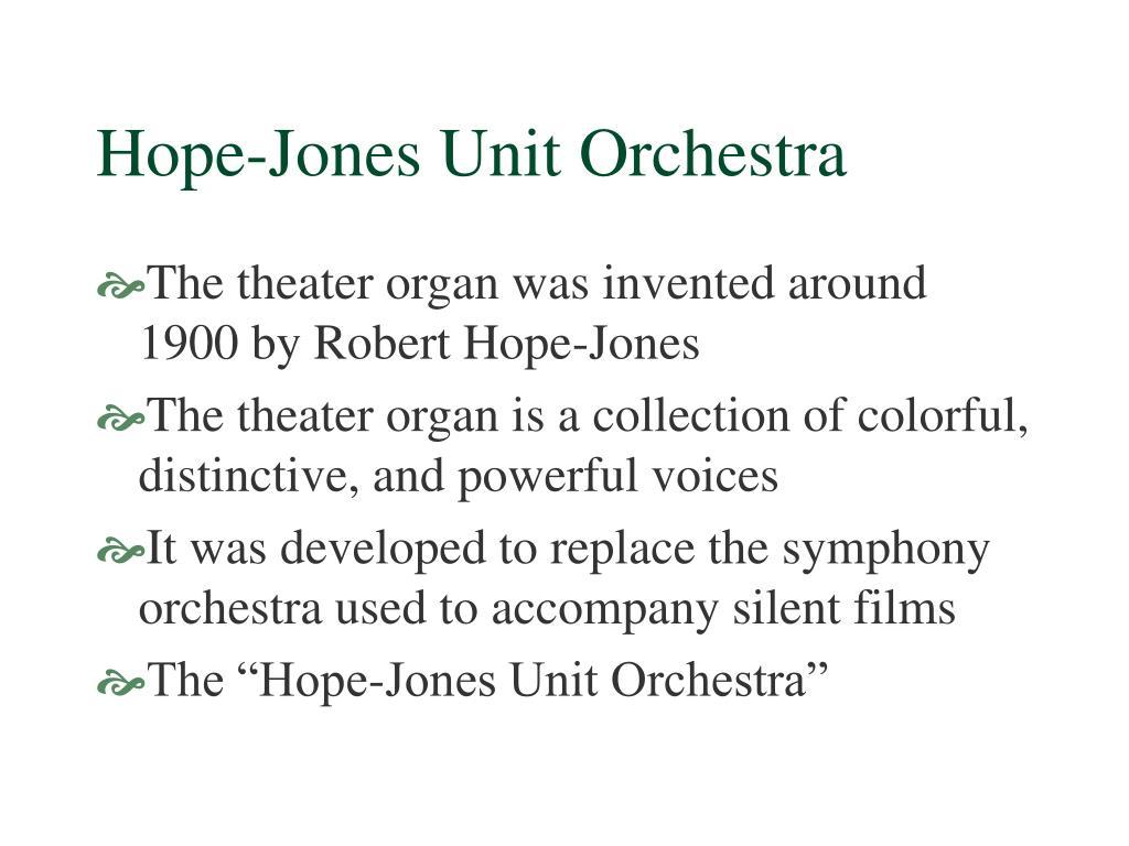 Hope-Jones Unit Orchestra