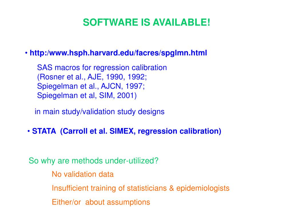 SOFTWARE IS AVAILABLE!