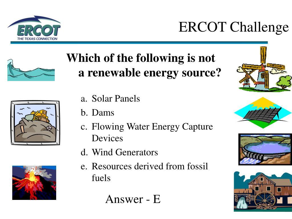ERCOT Challenge