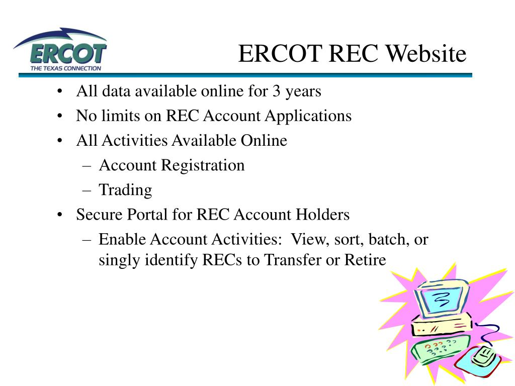 ERCOT REC Website
