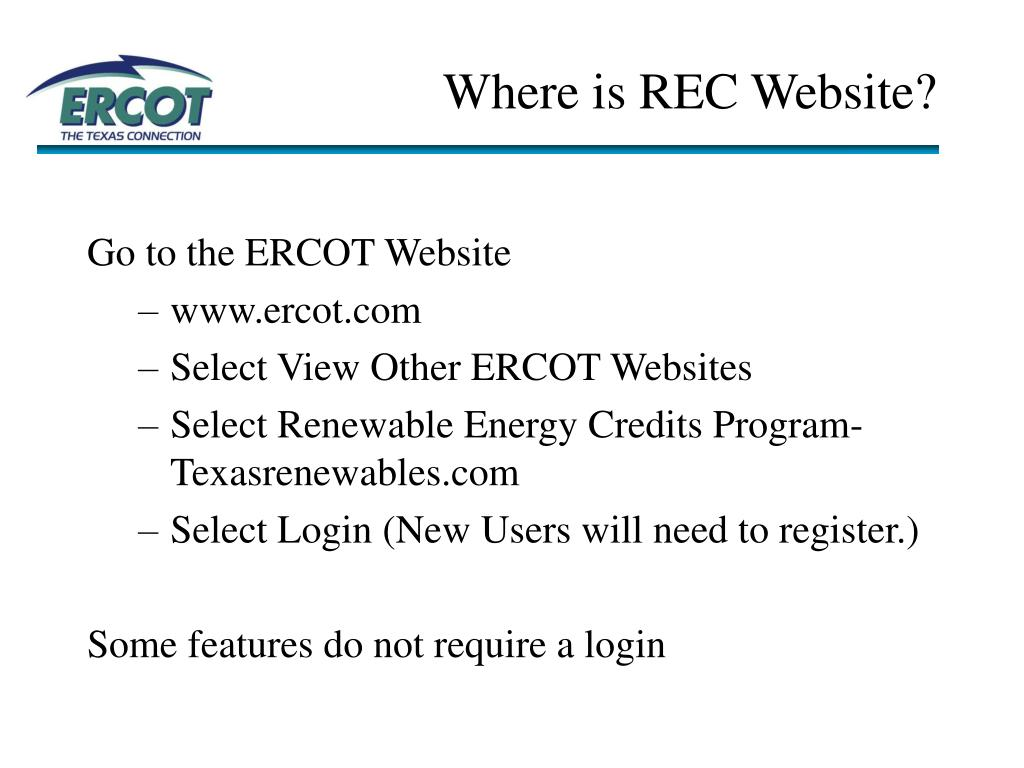 Where is REC Website?