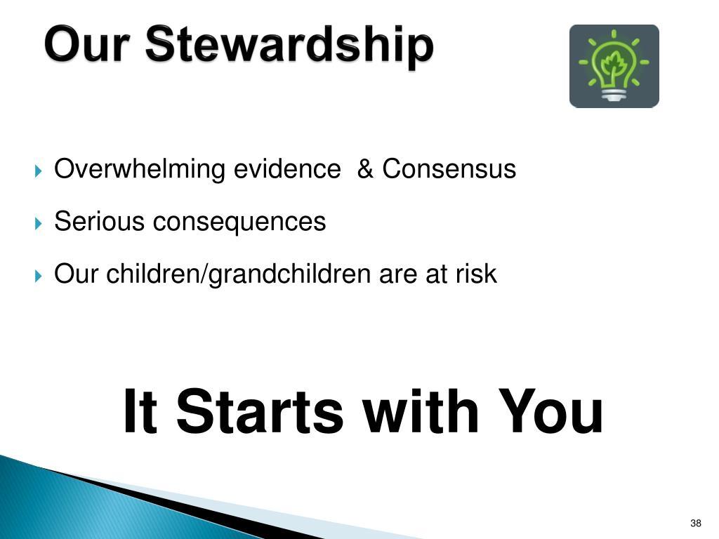 Our Stewardship