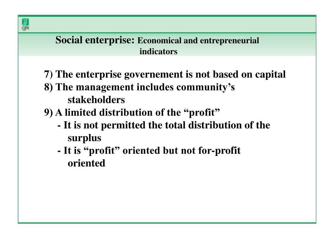 Social enterprise: