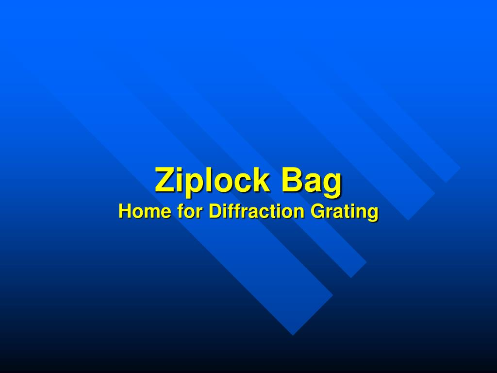 Ziplock Bag
