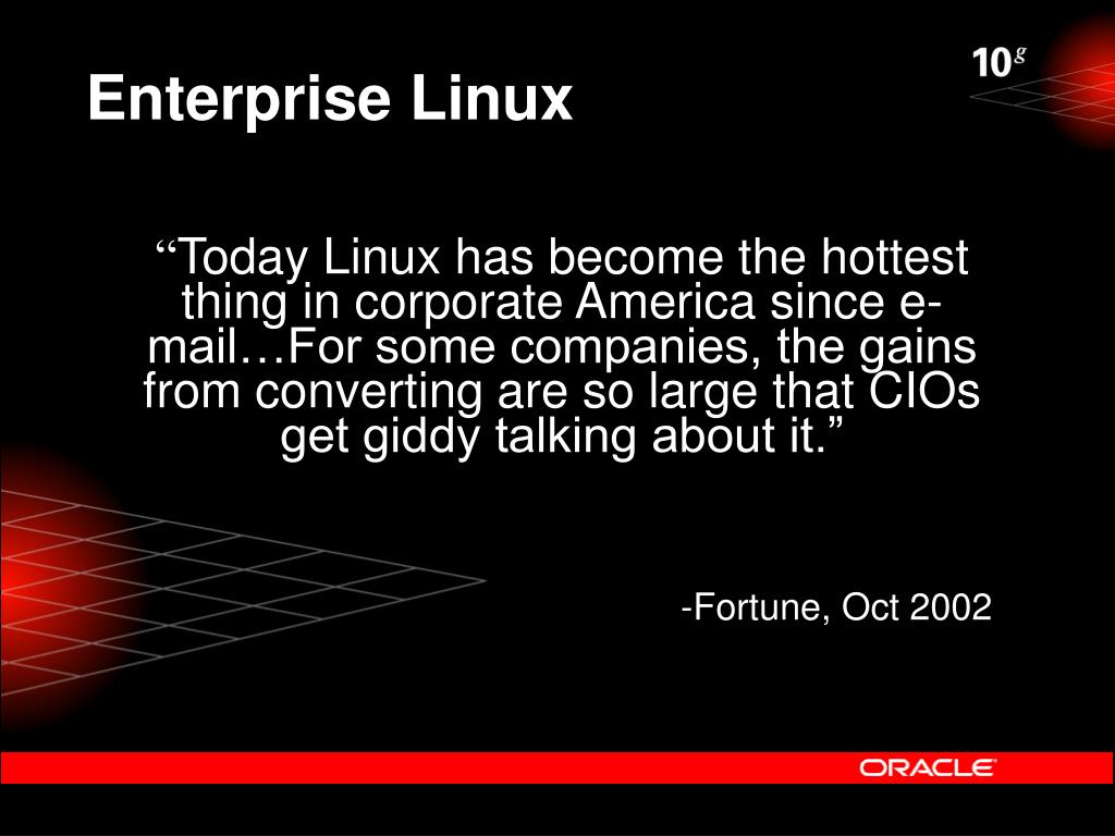Enterprise Linux