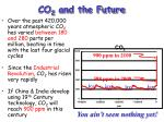 co 2 and the future