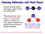 dancing molecules and heat rays6