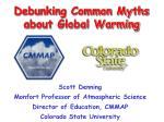 debunking common myths about global warming