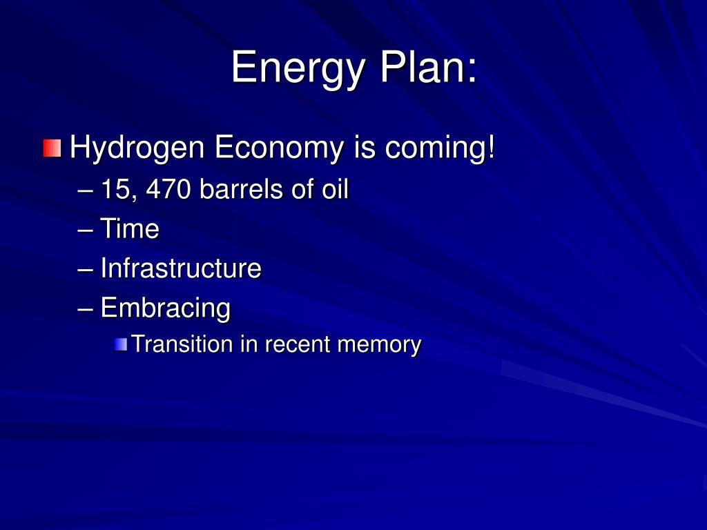 Energy Plan: