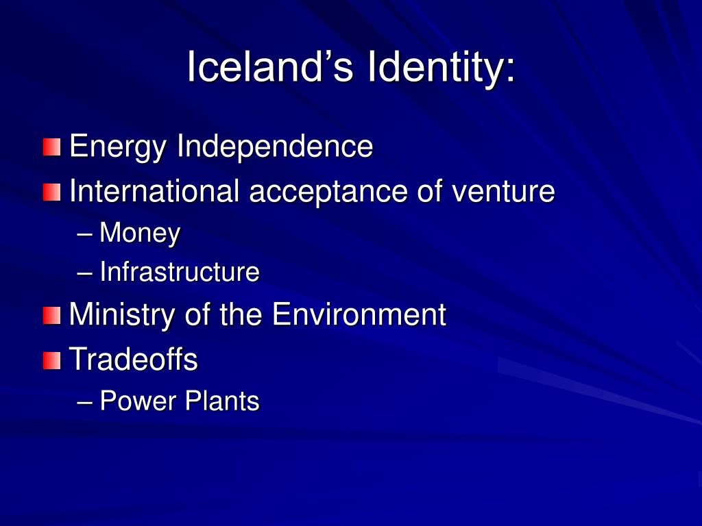 Iceland's Identity: