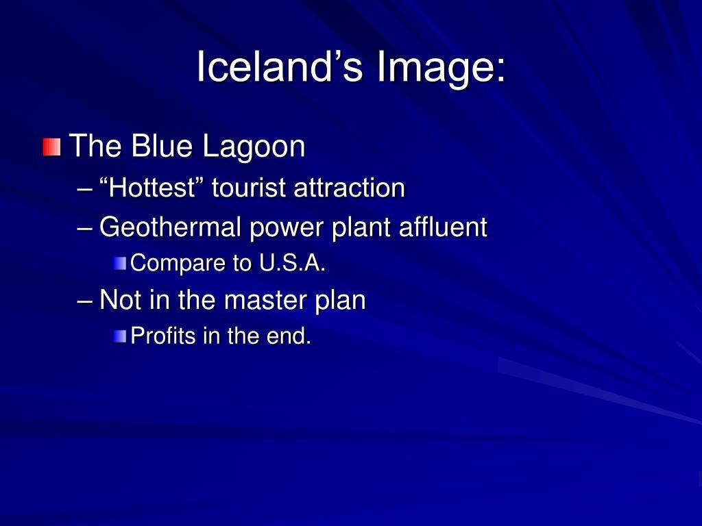 Iceland's Image: