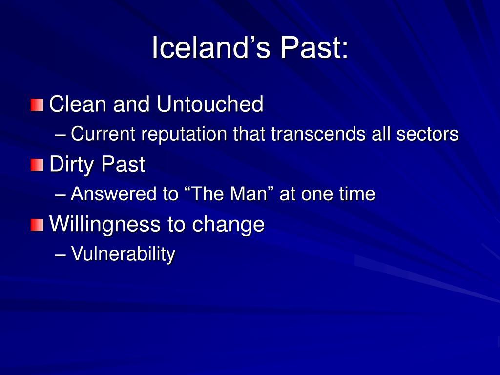 Iceland's Past: