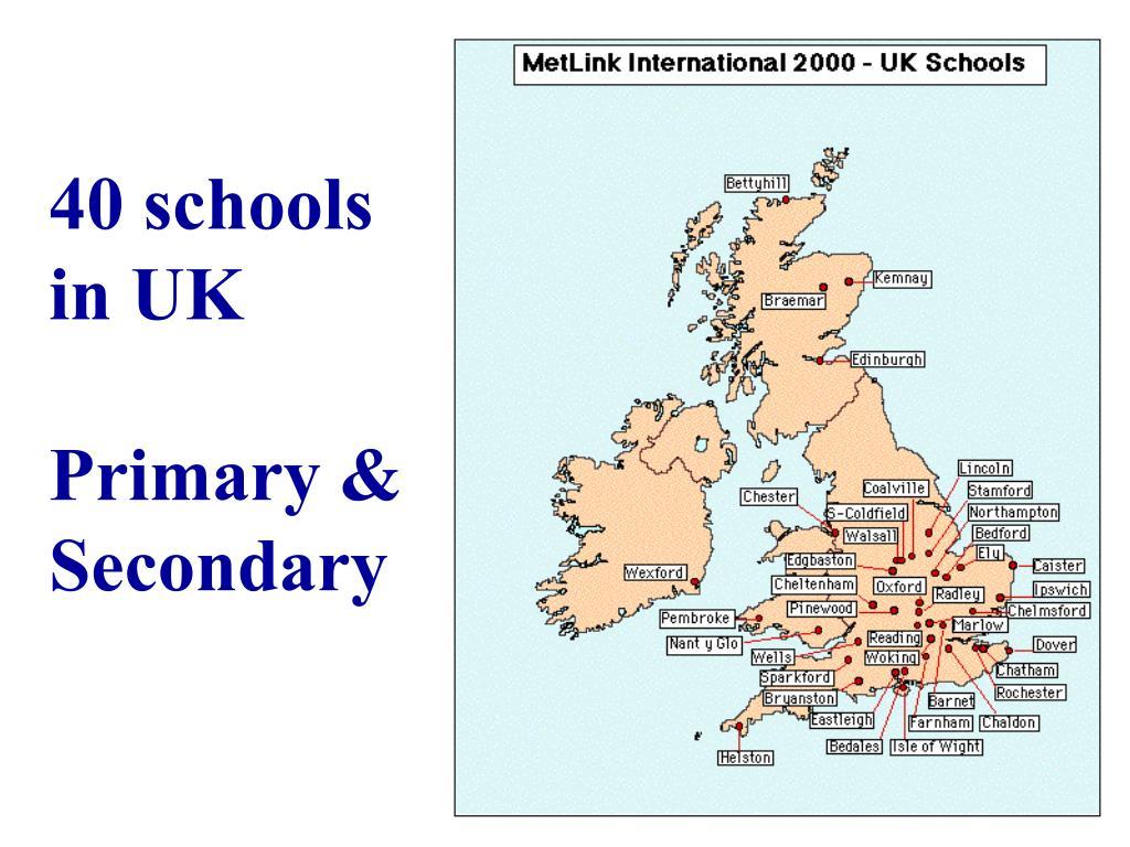 40 schools