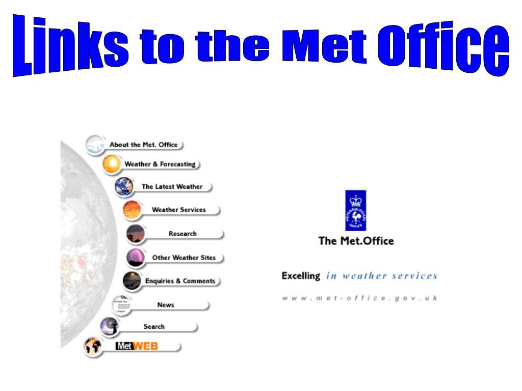 Links to the Met Office