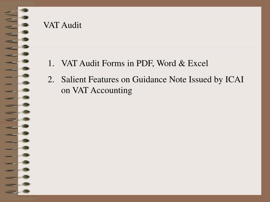 VAT Audit