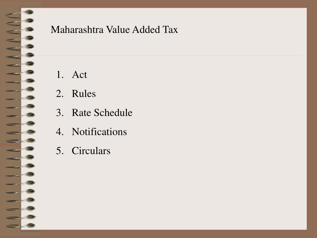 Maharashtra Value Added Tax
