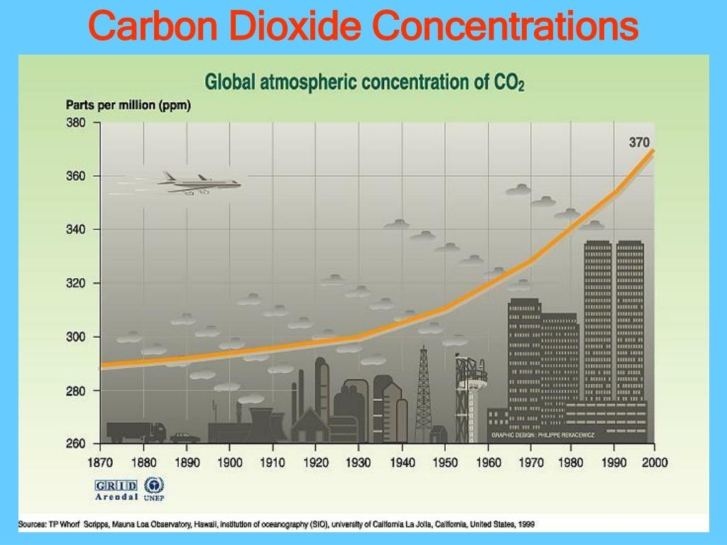 Carbon Dioxide Concentrations