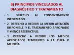 b principios vinculados al diagn stico y tratamiento