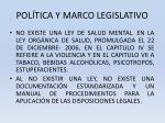 pol tica y marco legislativo