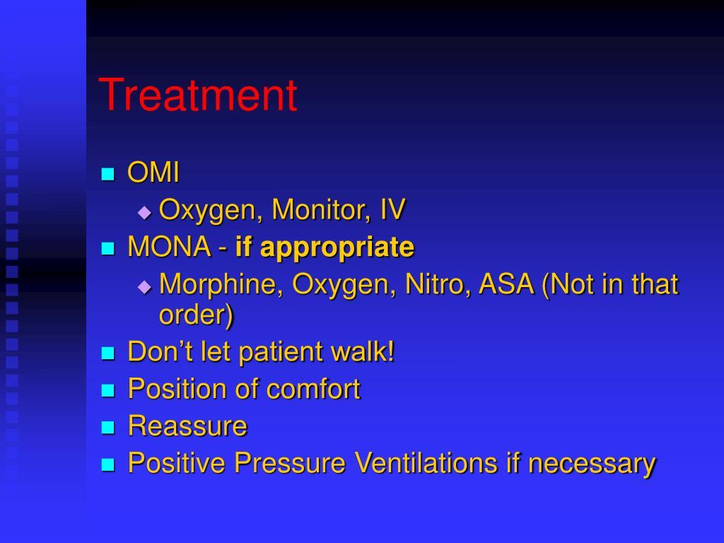 Inhaled Decadron Lasix And Morphine
