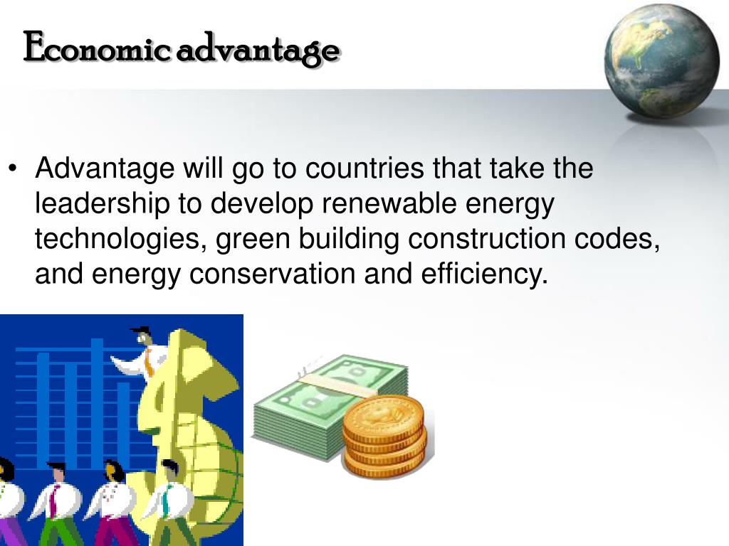 Economic advantage
