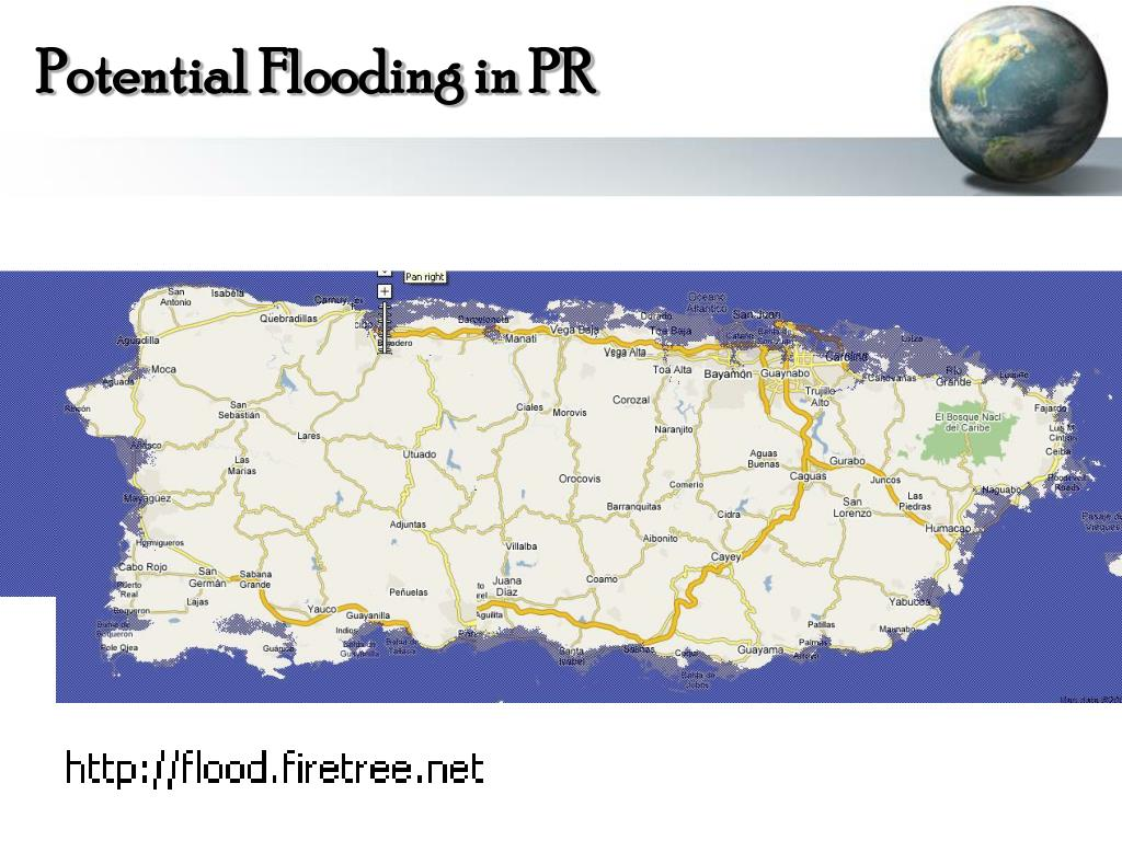 Potential Flooding in PR
