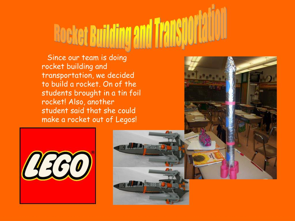 Rocket Building and Transportation
