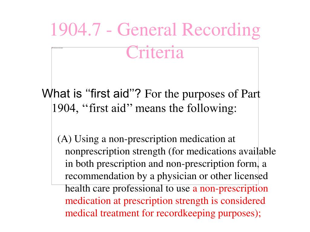 What is ''first aid''?